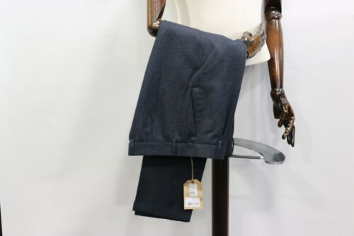 Gibson London navy wool trousers