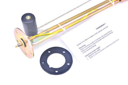 universal 6-24 inch 5 hole mounting VDO Fuel level sender 240-33 ohms output