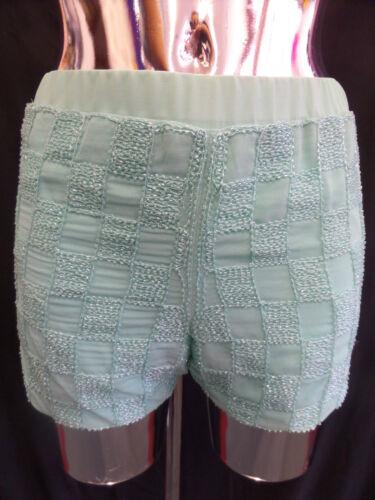 short Pour femme nouveau pastel sequin hot pantalons tailles S // M // L