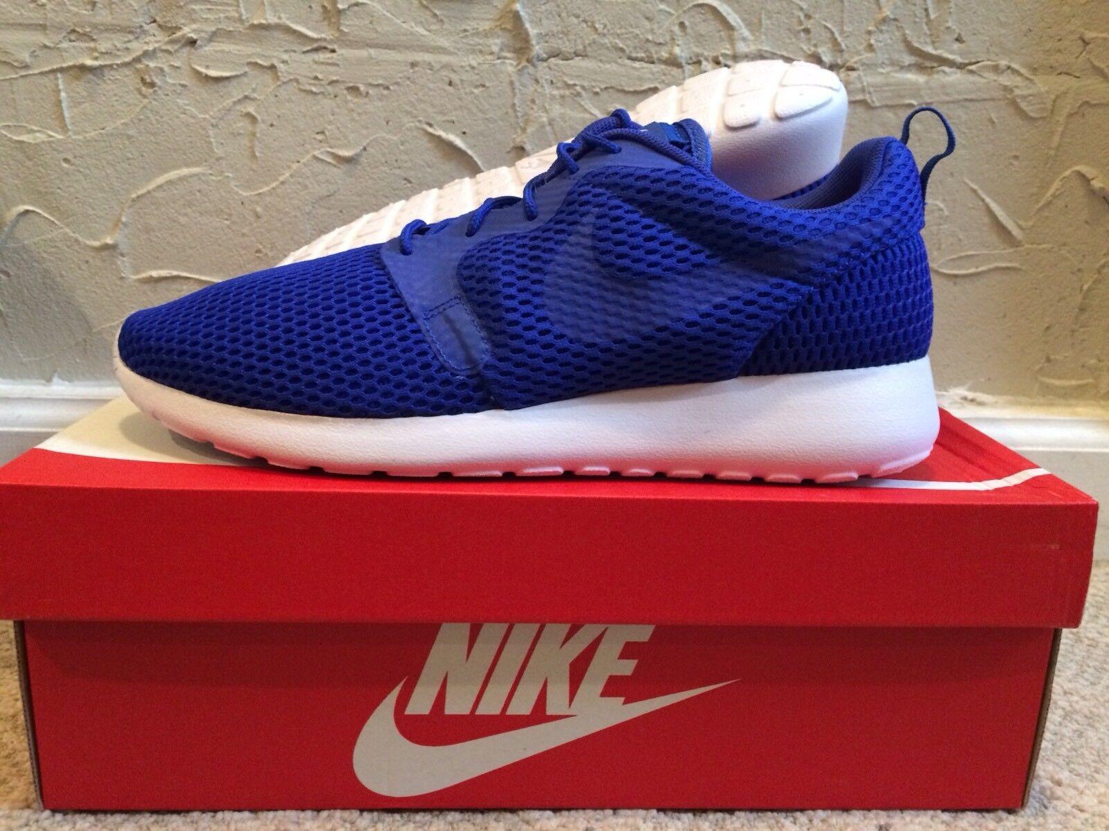 Nike Roshe Run One Hyp BR Racer Blue / White Mens Size 9.5 DS NEW! 833125-401
