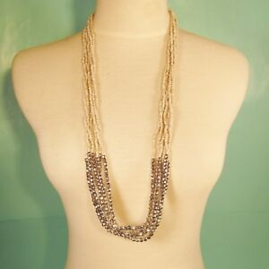 32-034-Long-Multi-Strand-Natural-Bohemian-Style-Handmade-Silver-Seed-Bead-Necklace