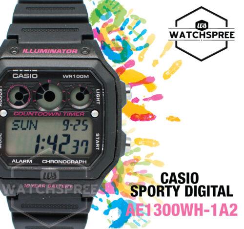1 of 1 - Casio Standard Digital Watch AE1300WH-1A2