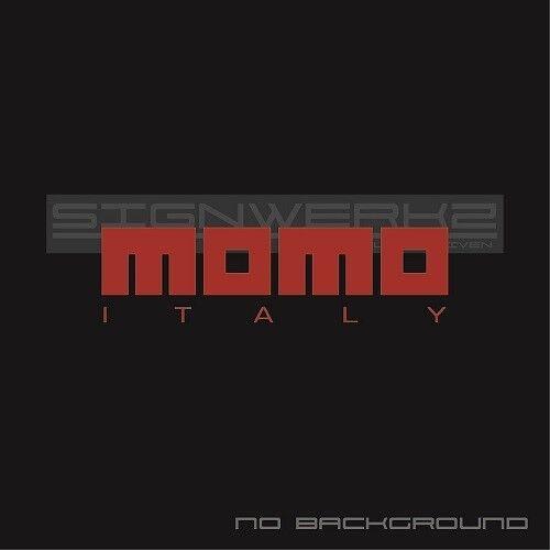 Momo Italy Decals Stickers racing toyota Audi subaru honda Ford JDM 2 Pair