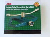 Ace All Metal Heavy-duty Revolving Sprinkler Brass Adjustable Nozzle