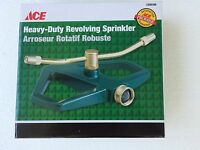 Ace All Metal Heavy-duty Revolving Sprinkler Brass Adjustable Nozzle