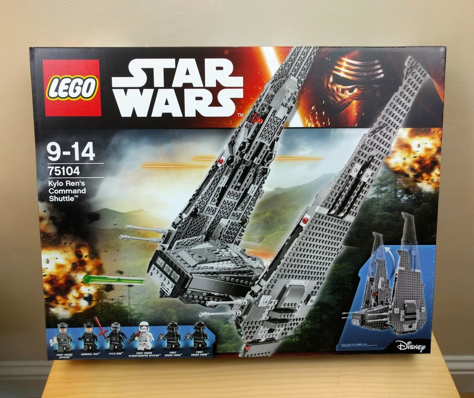 LEGO Star Wars Kylo Ren's Command Shuttle (75104)  Retired