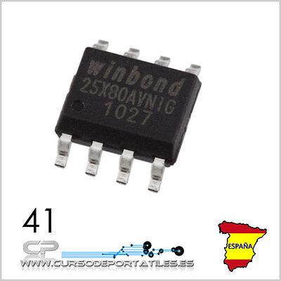 1 Unidad 25x80avnig W25x80avsnig W25x80a W25x80 25x80a 150-mil 8-pin Soic Nuevo Brividi E Dolori