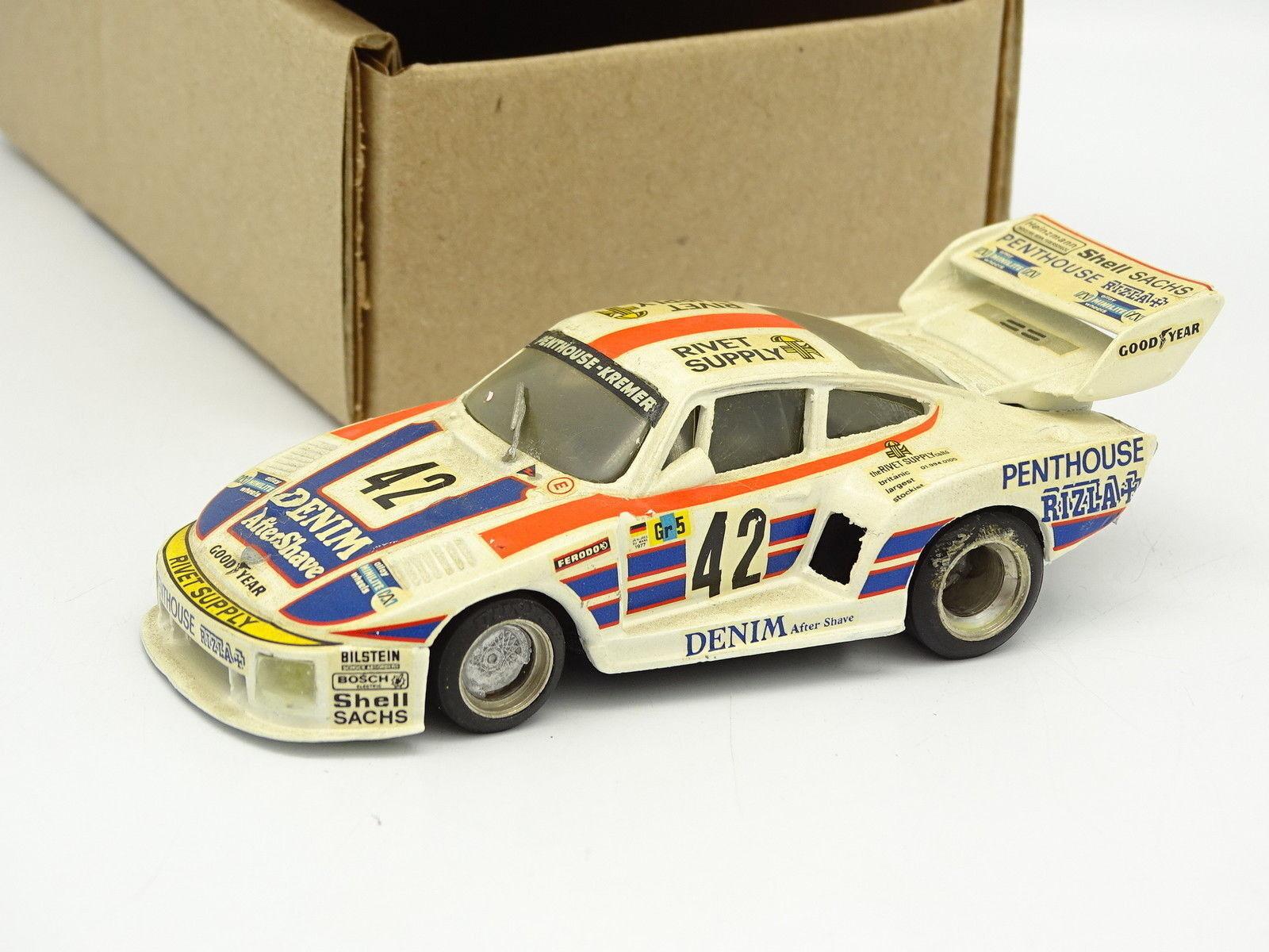 AMR BAM Kit Montado SB 1 43 - Porsche 935 K2 Nº42 Le Mans 1977