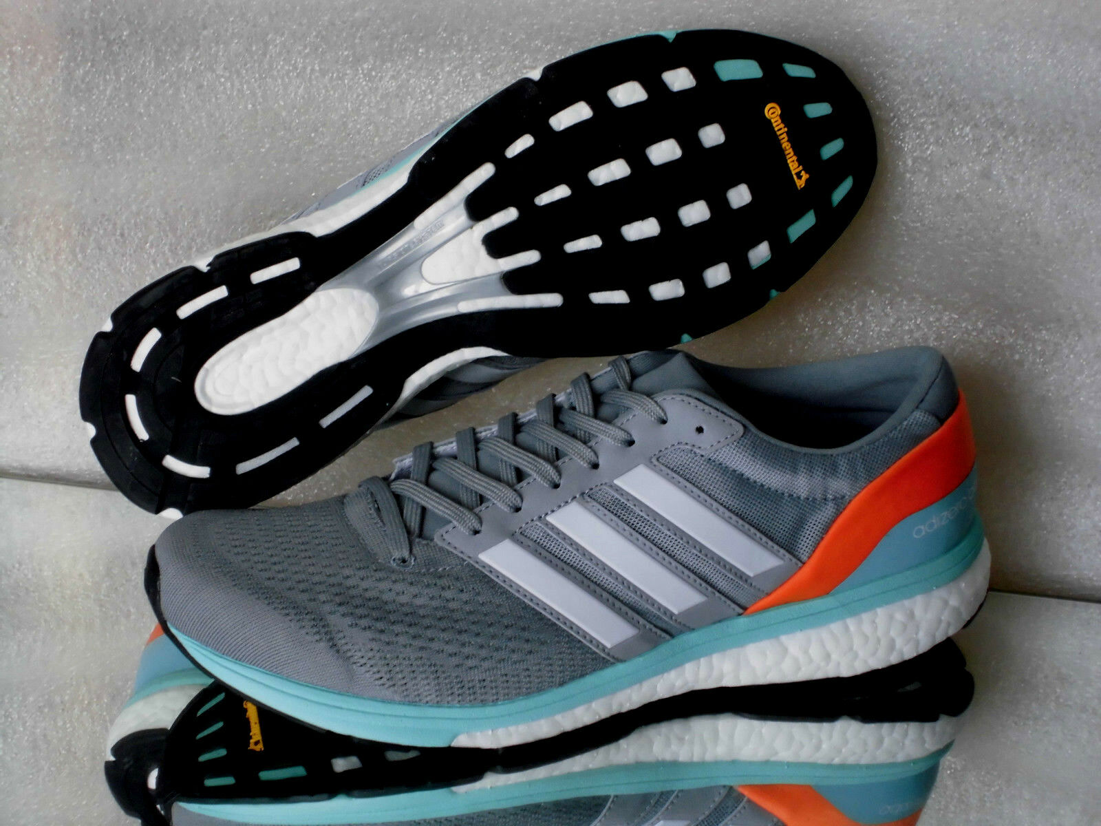 Adidas adizero boston 6w bb1729  running shoes sneakers in grey gr  42-45  come to choose your own sports style