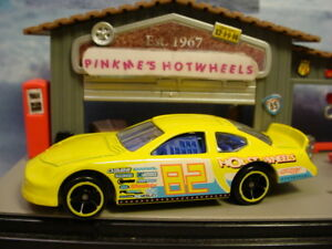 2011 Stock Car Race Design Ex Dodge Charger Yellow New Loose Hot