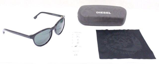 386c4c6db869 Diesel Eyewear DL0123 Shiny Black Frame Smoke Lens Sunglasses W  Case Brand  New