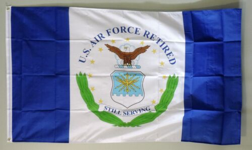 United States Air Force Retired 3/'x5/' Polyester Flag//Banner#76025