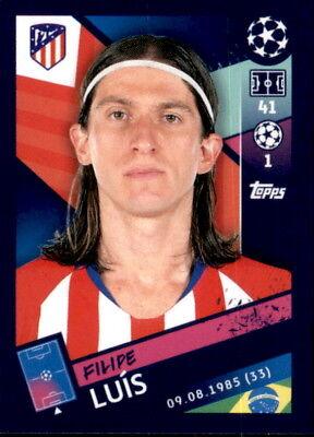 Aufstrebend Topps Champions League 18/19 - Sticker 29 - Filipe Luis Herausragende Eigenschaften