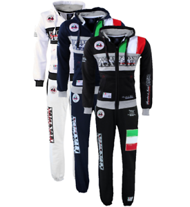 Tuta-Geographical-Norway-completo-felpa-Flitaly-Pantalone-Mitaly-lungo-due-pezzi