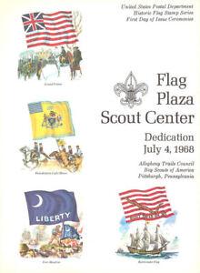 1345-54-C1-First-Day-Ceremony-Program-Prog-6c-Historic-Flag-Stamps