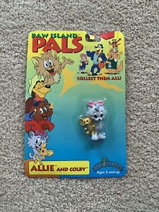 Paw Island Pals Allie And Colby Kitty Cat Mouse Action Figure 1999 Rare 693564906002 Ebay