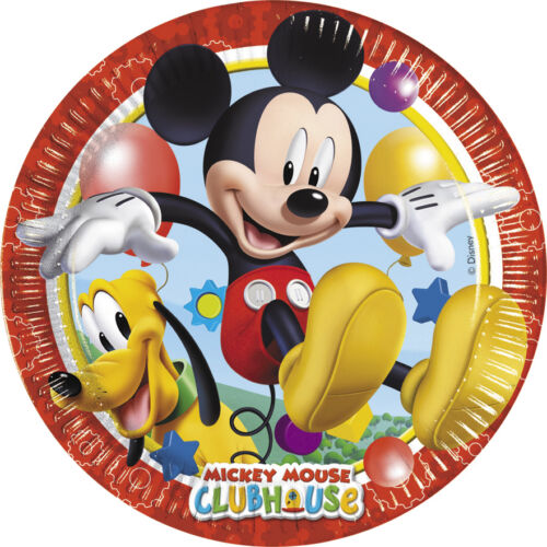 Tableware Supplies Mickey Mouse Playful Birthday Party Decoration Items