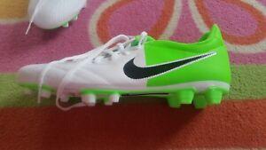 NIKE Größe 45 Stollen Grün Schuhe NEU Details Neon zu Fußball Weiß QBorxedCWE