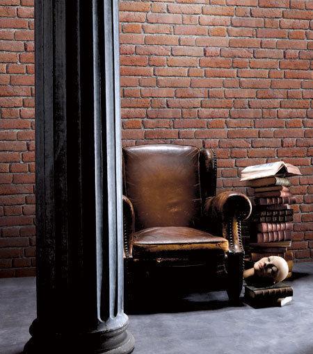 Galerie Fregable Papel Pintado de Vinilo con Motivo Pared Ladrillos Efecto