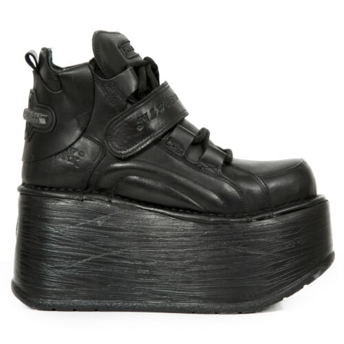 Boots New Nr Rock Neptuno S3 Black Women Marte ep714 M rqrS15Y