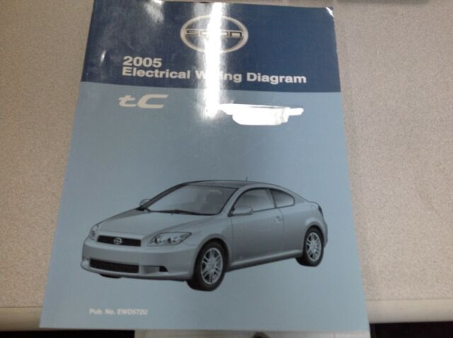 2005 Toyota Scion Tc Electrical Wiring Diagram Service
