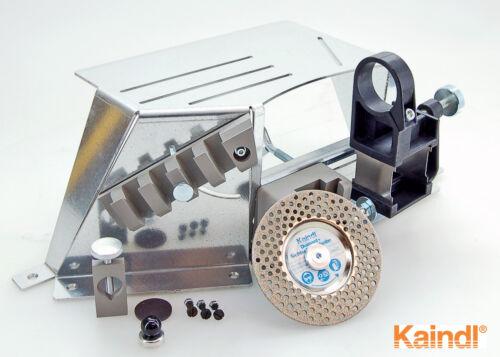 Kaindl Schärfstation KSS mit Diamantsichtschleifscheibe