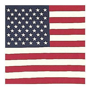 UNITED STATES FLAG BANDANAS HAV-A-HANK BUYER GETS 3