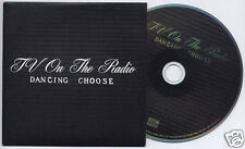 TV ON THE RADIO Dancing Choose 2008 UK 4-trk promo CD 4AD