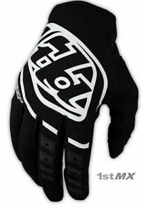 Troy Lee Designs TLD GP Air Skully Yellow Black Motocross MX Race Gloves Adults