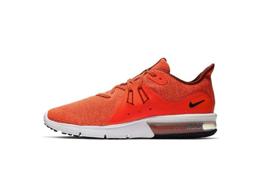 Mens NIKE AIR MAX SEQUENT SEQUENT SEQUENT 3 Team Red Trainers 921694 600 52488d