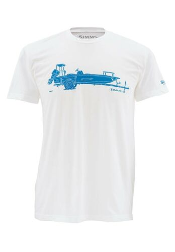 Simms SKIFF Short Sleeve Shirt ~ White NEW ~ Closeout XL
