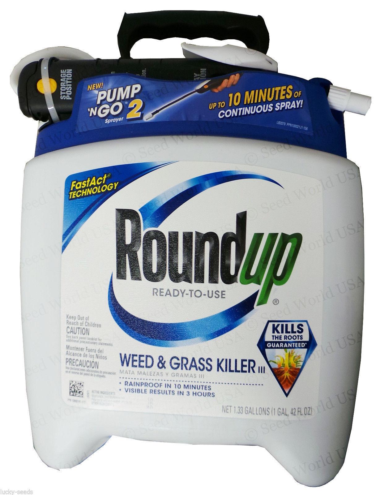 Roundup listo para usar hierba & Hierba Killer - 1.33 litros