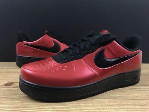 fbd9659aaa371 Nike Air Force 1 Low AF1 Foamposite Cup Gym Red Black Bred AJ3664 ...