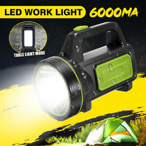 135000LM Xenon Rechargeable LED Work Lights Hand Lamp Torch Candle Spotlight UK