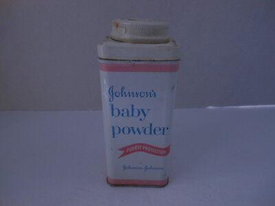 Home Decor Vintage Advertising Johnson and Johnson Medicated Powder Tin Gift Under 20
