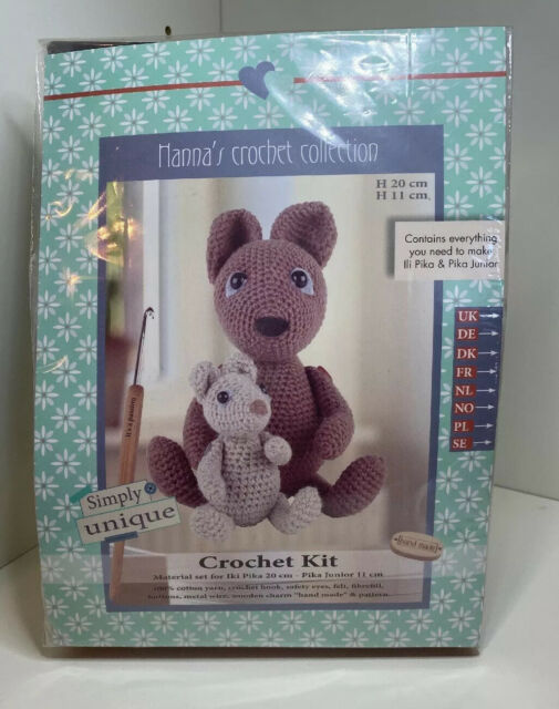Una the Unicorn Crochet Kit by Wool Couture | 640x505