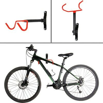 Bicycle Bike Cycling Wall Mount Hook Hanger Garage Storage Holder Rack Stand New