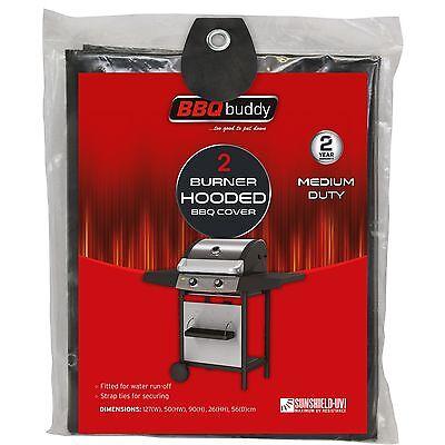 BBQ Buddy 4-BURNER HOODED BBQ COVER 100292 Fitted Design 165x85x100x30x64cm