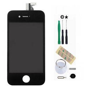 Schwarz-LCD-Display-Touchscreen-Komplettset-Glas-fuer-iPhone-4-4G