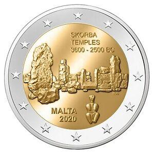 Malta-2020-2-euromunt-Skorba-UNC