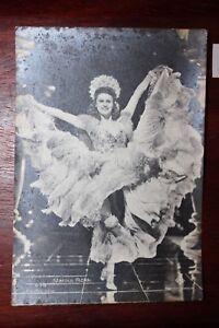 Carte Postale Acteur Danseurs Marika Rökk-afficher Le Titre D'origine