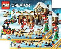 Lego® Creator Bauanleitung Für 10245 Santa's Workshop Neu Only Instruction