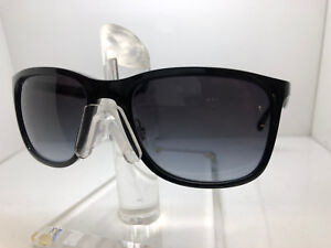 560542efcd9ed AUTHENTIC RAY BAN SUNGLASSES RB4313 601 8G 58MM BLACK GREY GRADIENT ...