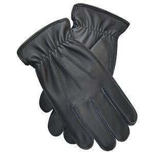 Neu Hochwertig Herren Winter Mode Kleid Handschuhe Lammleder Vintage Design 9060