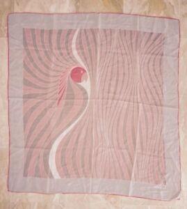 6fe2de154977 Foulard carré en soie vintage GRÈS Paris   eBay
