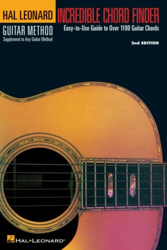 Hal Leonard Guitar Metho 000697200 Incredible Chord Finder 6in; x 9in; Edition