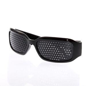 Pinhole-Glasses-Black-Eyesight-Improvement-Vision-Care-Exercise-Eyewear-UY