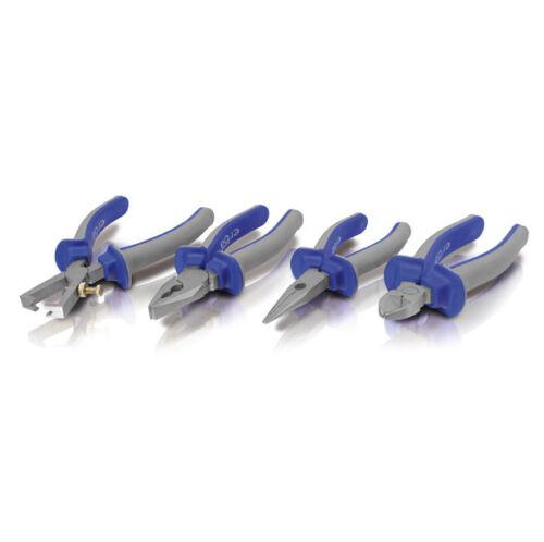 Radio pince combinaison pince Abisolierzange coupante Pinces Set Crv 4tlg.