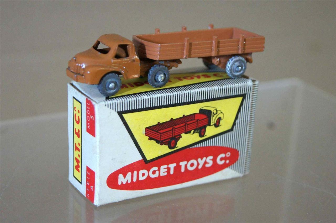 Midget Toys Co 5 Series A Way Jungen Les Routiers Lkw Anhänger Hellbraun & Ozc