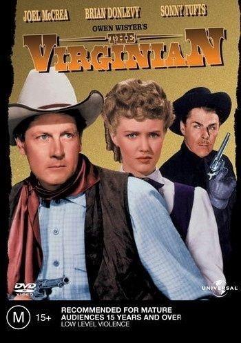 The Virginian DVD  (1946 western movie) rare Starring. Joel McRae. Brian Donlevy